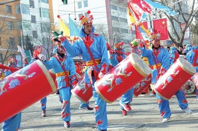 年景|兰州:社火闹新春