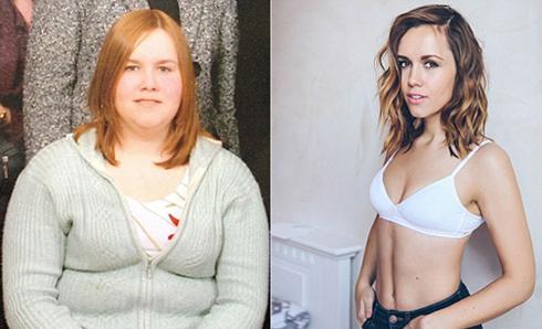 逆袭之路 超重女孩减肥100斤重拾自信