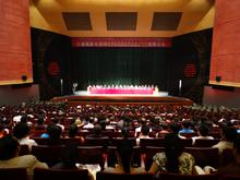 甘南州第七次民族团结进步表彰大会(组图)