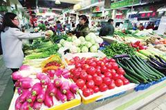 春节过后 兰州市蔬菜价格恢复平稳