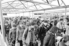 兰州车站将迎学生流返程最高峰(图)