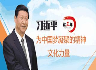 【动态图解】这三年,习近平为中国梦凝聚的精神文化力量