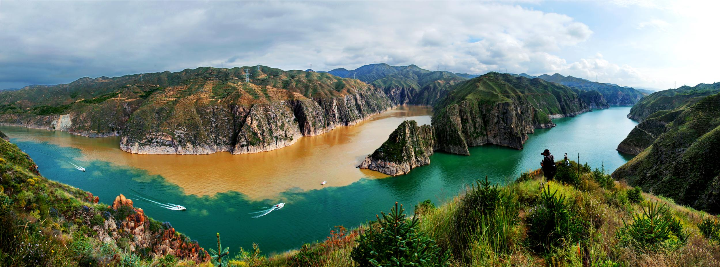 你从未见过的黄河全貌,简直美翻了!