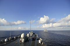 赖着不走?美国多艘军舰仍在南海徘徊