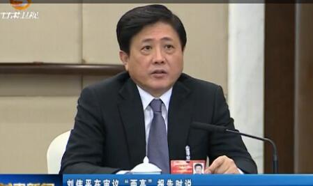 """刘伟平在审议""""两高""""报告时说 报告充分体现坚持党的领导 正确政治方向和司法为民理念"""