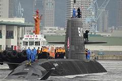 """日媒:自卫队第17艘潜艇服役 开启扩军""""增势元年"""""""