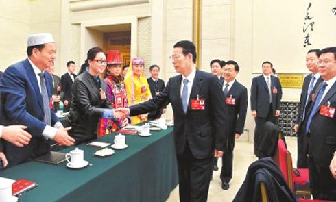 甘肃参加全国两会的代表委员