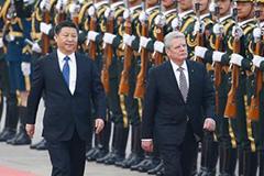 习近平同德国总统会谈:巩固和加强中德全方位战略伙伴关系
