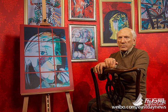 毕加索入上海像馆
