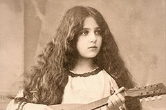 100年前明信片上的女人 个个惊艳