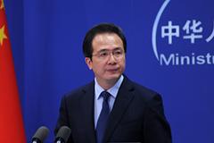 2016年4月5日外交部发言人洪磊主持例行记者会