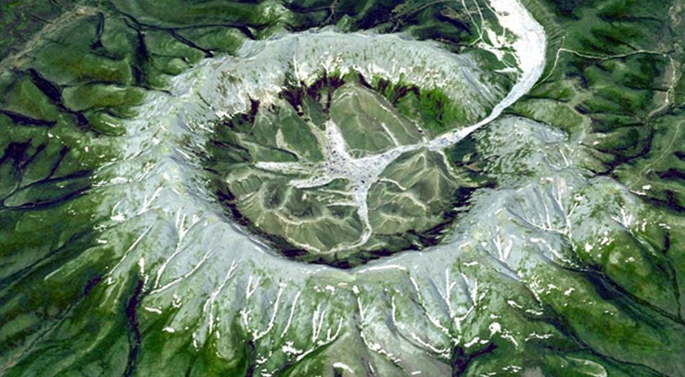 NASA航拍图展现地球面貌变化