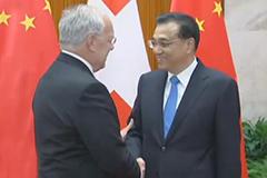 """李克强:加强""""中国制造2025""""和""""瑞士工业4.0""""对接"""