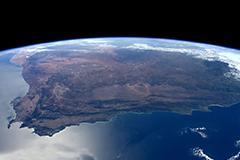 空间站拍摄珠穆朗玛峰美图
