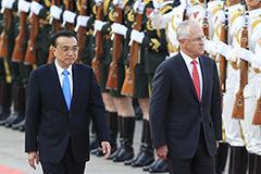 中澳总理举行年度会晤
