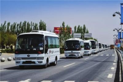 37辆旅游大巴保障丝路文博会运力