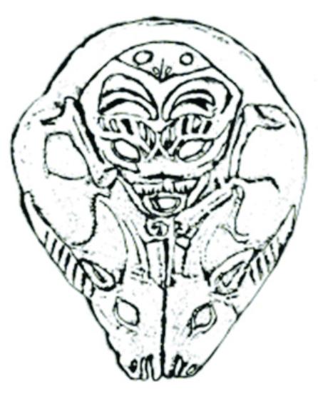 楚国被秦国所灭,熊图腾或熊神的文化记忆通过汉代的文物造型而继续着
