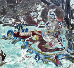 酒泉瓜州东千佛洞:流淌着西夏的月色(图)