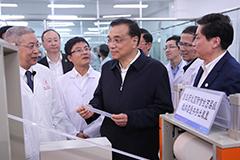 李克强考察四川大学