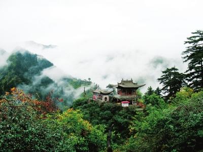 """榆中兴隆山景区,嘉峪关文物景区,平凉崆峒山等10个景区被评为""""最具"""