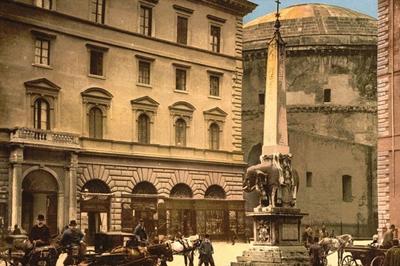 永恒之城的不朽美丽:探访1890年的罗马(组图)