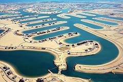 沙漠奇迹!科威特引海水建新城