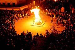泾川:万人篝火齐欢唱