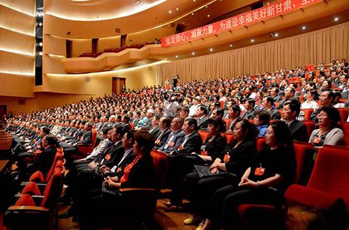 甘肃省举行十二届人大五次会议预备会议