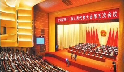 林铎当选甘肃省省长 手按宪法宣誓