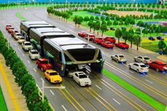 """中国""""最牛巴士""""亮相 可减少35%拥堵"""