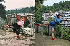 四川农业大学女生晒19年同地点对比照 走红网络