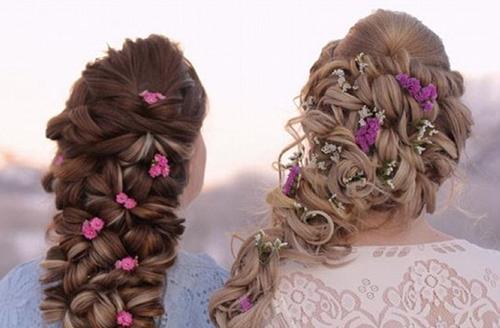 挪威姐妹花打造绝美辫子 引网友热议
