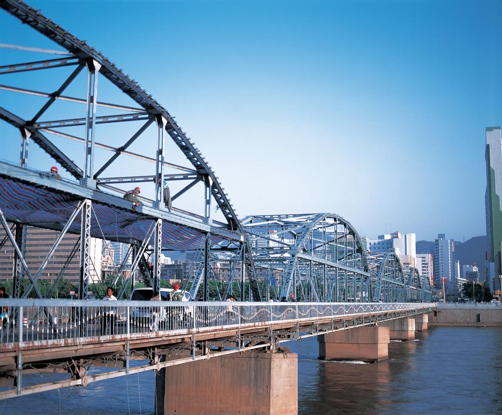 兰州中山桥及桥子桥孙