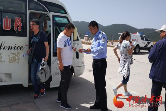 山丹县开展禁毒宣传工作