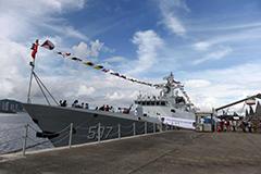 驻港部队昂船洲军营对公众开放