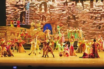 第四届中国(兰州)国际鼓文化艺术周昨晚盛大开幕(图)