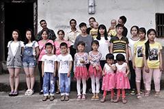 """重庆""""双胞胎村""""全村共有39对双胞胎"""