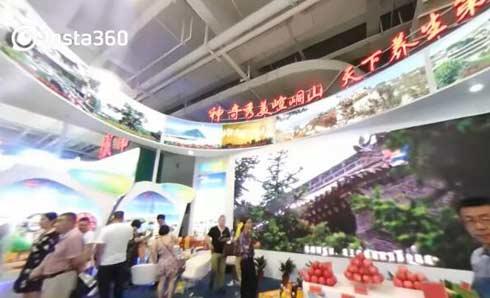 中甘网VR直击 走进第22届兰洽会360°看展馆