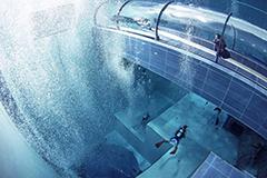 世界最深游泳池