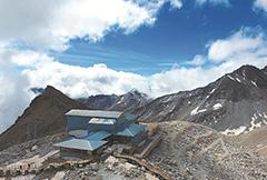 全世界最孤独的咖啡馆:海拔4860米 达古冰川之巅