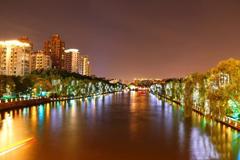 迎G20峰会 杭州古运河夜景新貌向民众开放