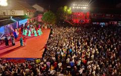 甘肃平凉打造大型实景剧 再现传统婚俗文化