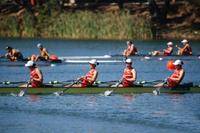 女子四人双桨赛艇决赛 中国选手无缘奖牌