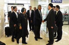 斯里兰卡总理抵达重庆开启访渝之旅