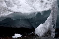 秘鲁冰川融化 城市面临洪水威胁
