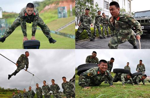 """警营里的""""奥运会"""""""