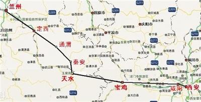宝兰客运专线正式铺轨 明年通车后兰州至西安仅用3小时