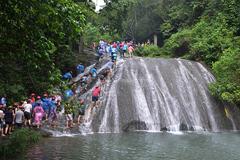 桂林旅游迎暑期高峰期