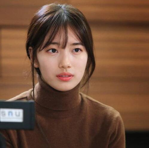 空气刘海升级版 韩国女明星都剪了这款新刘海