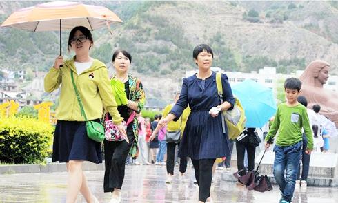 未来7天甘肃省多降水天气